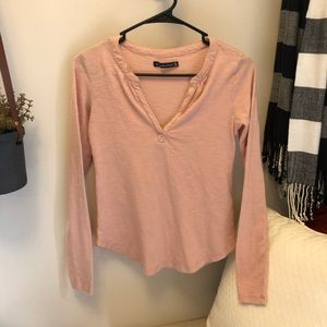 Abercrombie and Fitch top pink